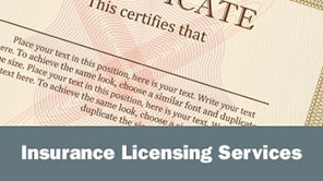 Insurance Licensing Services