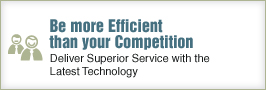 Be more Efficient than your Competition