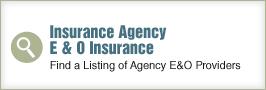 Insurance Agency E and O Insurance